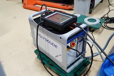 ポリスードパイプ自動溶接機