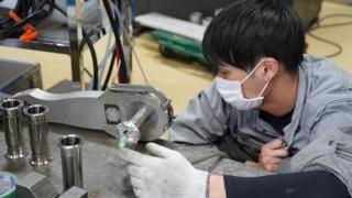 ポリスード自動溶接機 サニタリー配管溶接