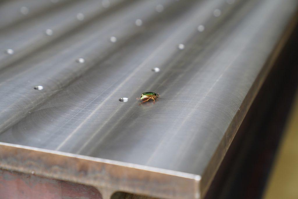 5尺×10尺の蜂の巣定盤