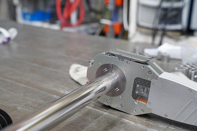 POLYSOUDE ポリスード自動溶接機 サニタリー配管 溶接