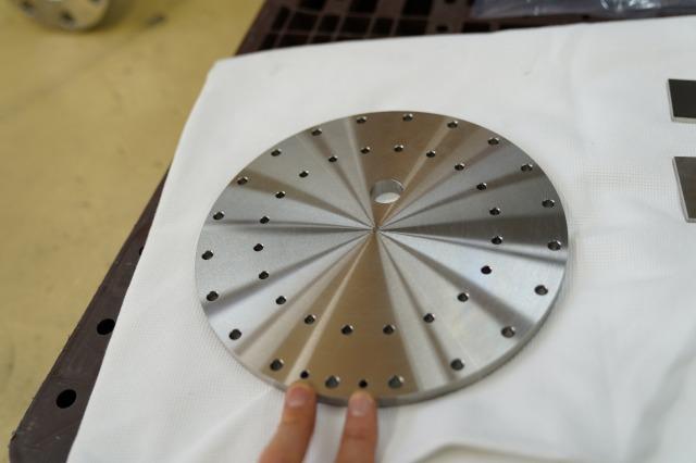 ステンレス冷却板 平面研磨