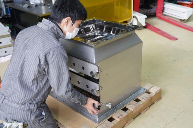 ステンレスタンク 磁選機 ホッパー