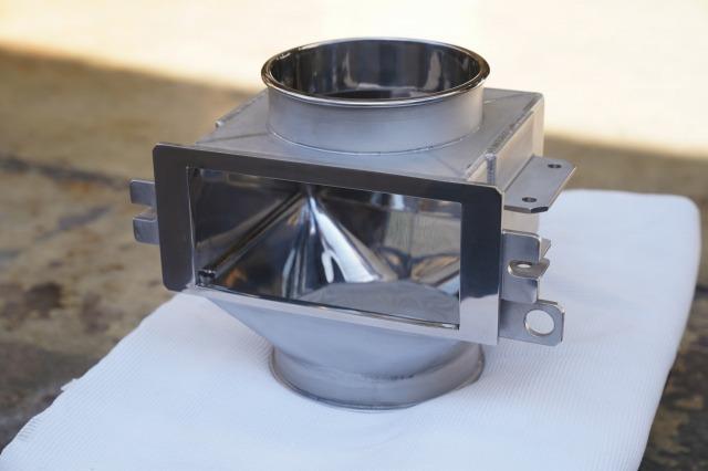 ステンレス製缶品 研磨品 ステンレス溶接