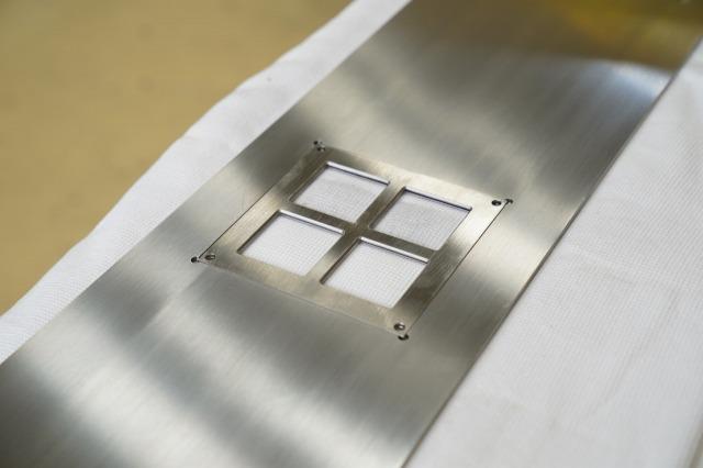 ステンレス 薄板 レーザー加工 マシニング加工