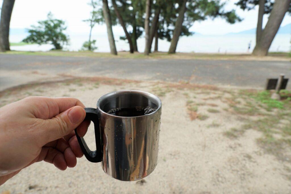マイアミ浜オートキャンプ場 コーヒー