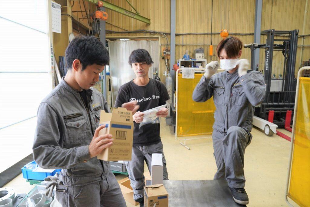 3Mが独自開発したのれん型排気弁
