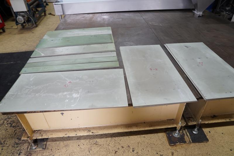 耐摩耗鋼鈑 テロプレート 加工