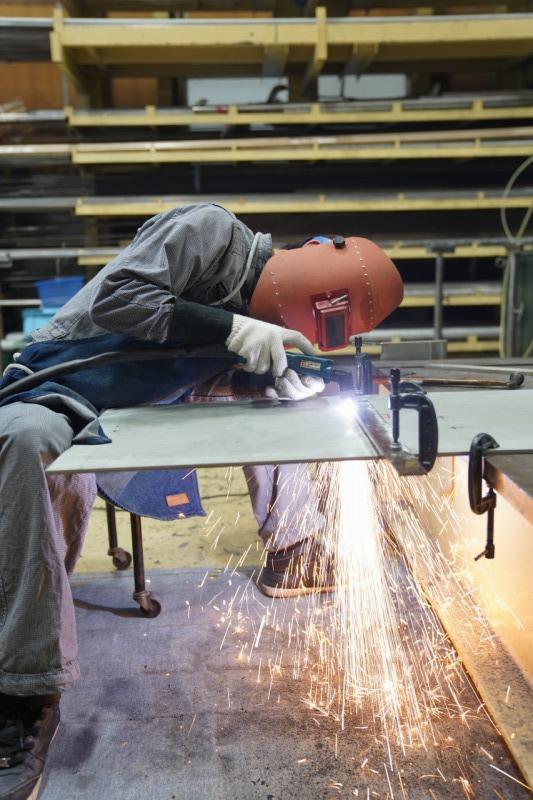耐摩耗鋼鈑 テロプレート 加工 プラズマ切断