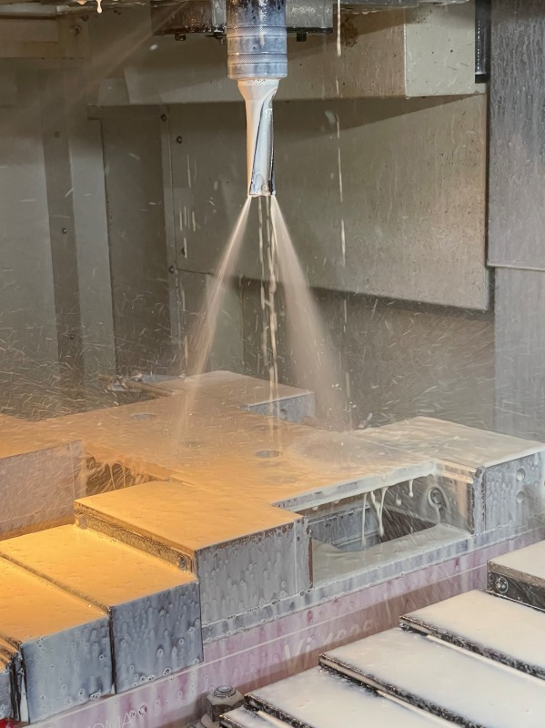 耐摩耗鋼鈑 テロプレート マシニング加工