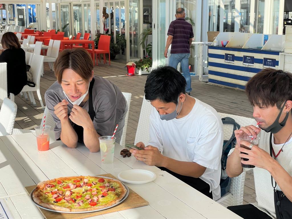 淡路島 クラフトサーカス ピザ